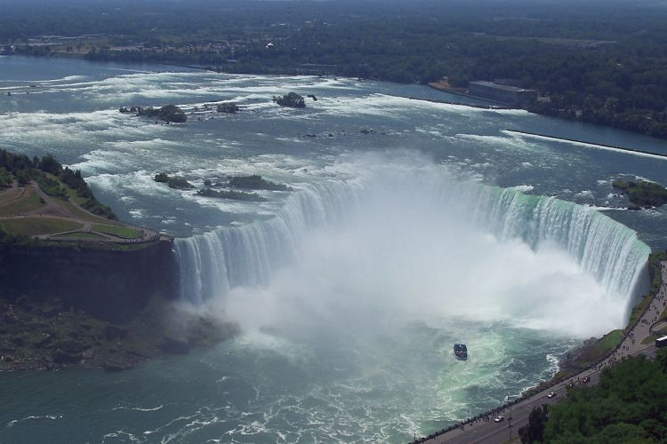 Niagara Falls filled with PANOLIN high performance lubricants