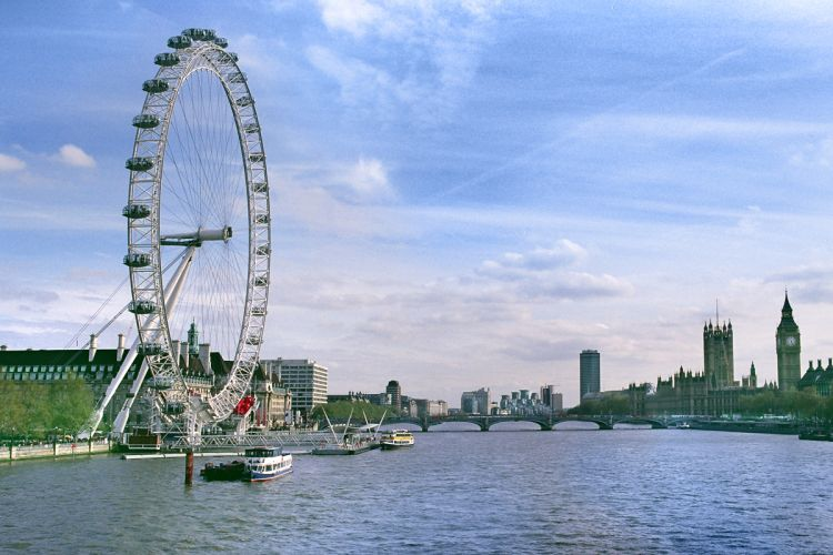 London Eye filled with PANOLIN biodegradable hydraulic oil