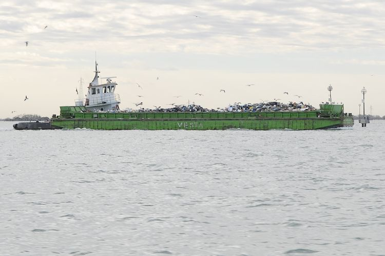 GREENMARINE garbage vessel